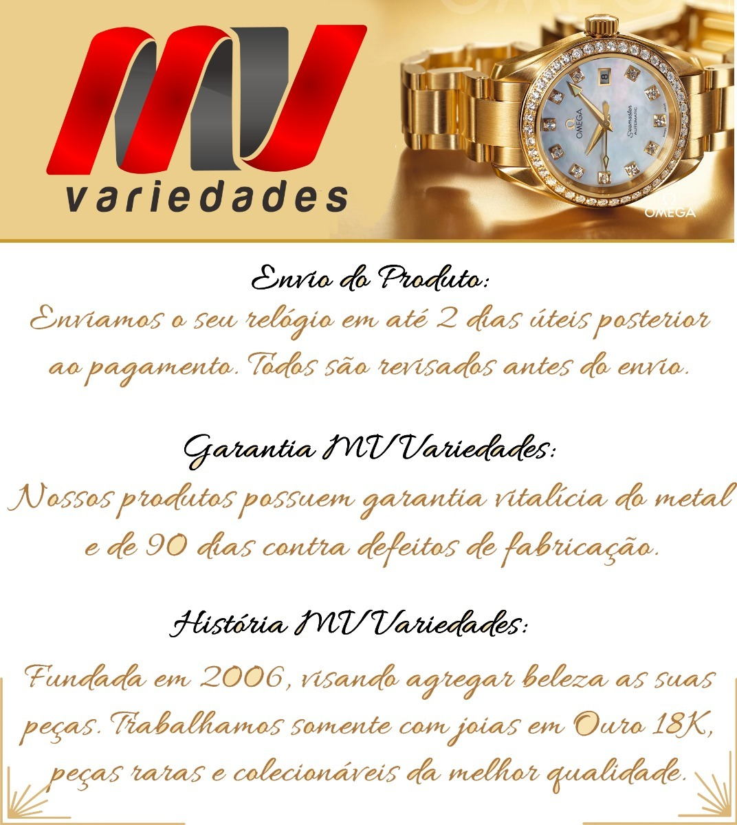 ec5586276ac Relogio Baume   Mercier Geneve Feminino Todo Em Ouro J17316 - R ...