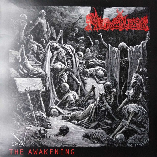 merciless - the awakening, vinilo