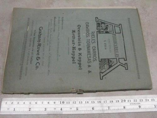 mercurio peruano: antiguo boletin ingenieria 7-1911 l25
