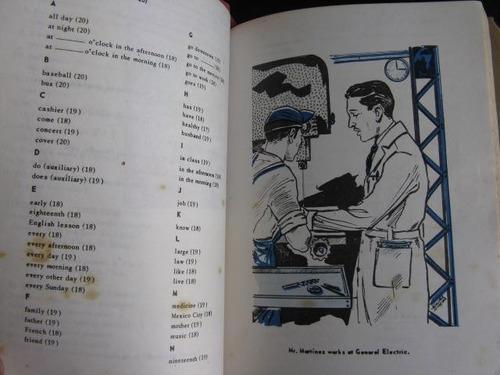 mercurio peruano: antiguo libro de ingles icpna  l84