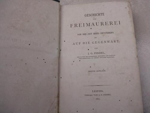 mercurio peruano: antiguo libro masoneria 1870 l22