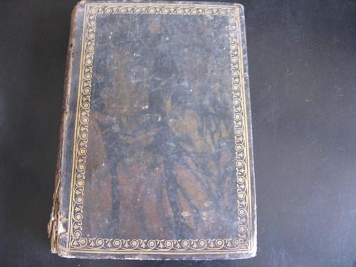 mercurio peruano: biblia vulgata 1820 t6 antiguo testame l87