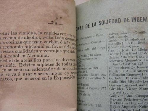 mercurio peruano: boletin aplicaciones industral alcohol l25