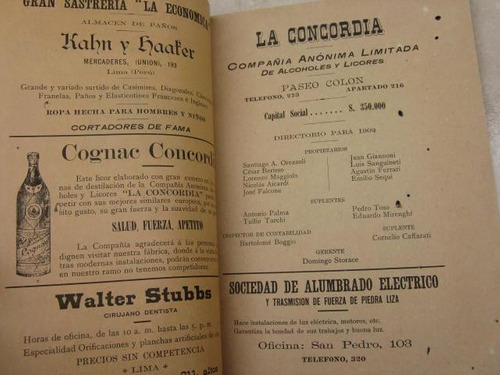 mercurio peruano: boletin sociedad de ingenieros 1902 l25