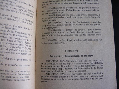 mercurio peruano: constitucion politica del peru 1933 54pl85