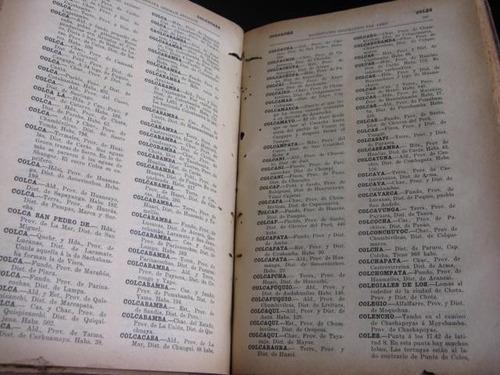mercurio peruano: diccionario geografico stiglich 1922 l43