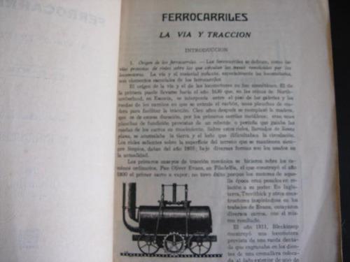 mercurio peruano: ferrocarriles j. a. rigau 1936 480p l85