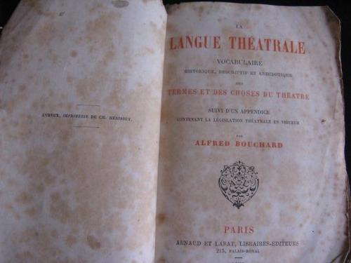 mercurio peruano: lenguaje teatro alfred bouchard 1878 l57