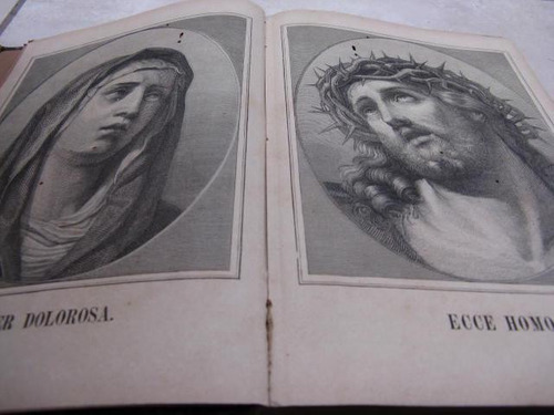 mercurio peruano: libro antig devocionario religion 1883 l22