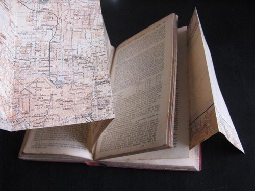 mercurio peruano: libro antiguo turismo españa portugal l48