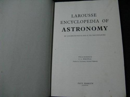 mercurio peruano: libro astronomia larousse l143