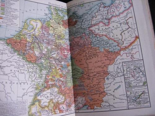 mercurio peruano: libro atlas historico 1906 full color l67