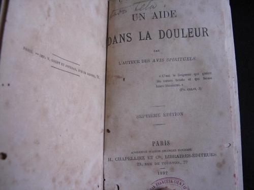 mercurio peruano: libro ayuda en el dolor 1892  l138