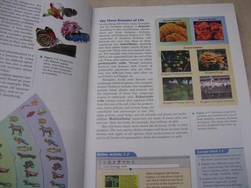 mercurio peruano: libro biology biologia exploring life l36