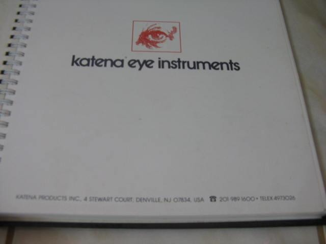 Mercurio Peruano: Libro Catalogo Optico Katena Eye L-5 - S/ 50,00