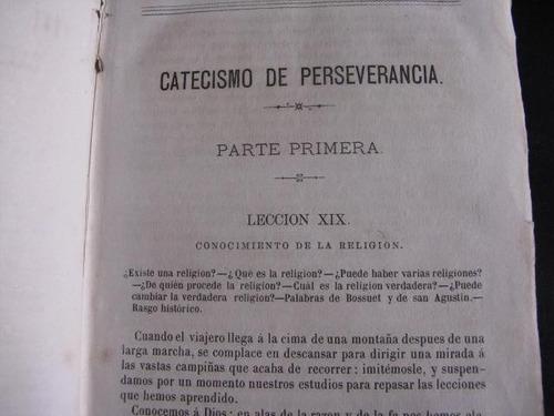 mercurio peruano: libro catecismo perseverancia gaume t2 l57
