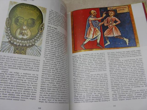 mercurio peruano: libro cuerpo humano el ojo l38