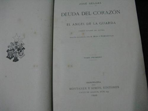 mercurio peruano: libro deuda del corazon  1909 l55