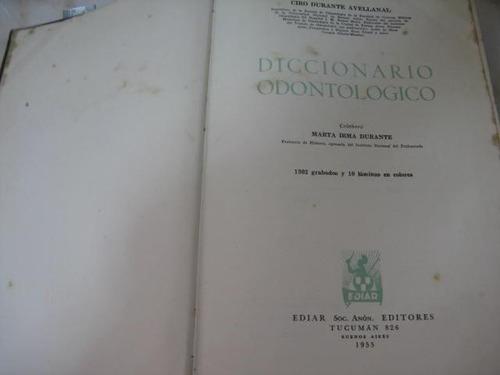 mercurio peruano: libro diccionario odontologico l-5