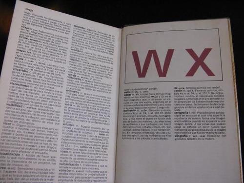 mercurio peruano: libro diccionario tecnologico vox 1980 l69