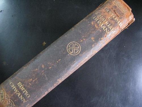 mercurio peruano: libro epitome pio x 1909 latin l15