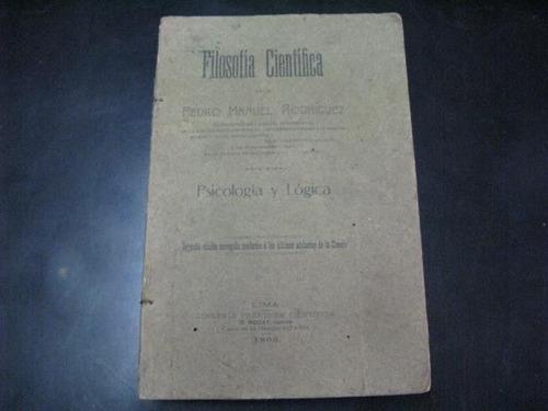 mercurio peruano: libro filosofia cientifica m rodriguez l53