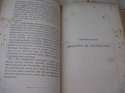 mercurio peruano: libro filosofia sintetica de spencer  l-1