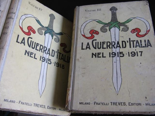 mercurio peruano: libro guerra de italia 1-2-3-4-5 1916 l43