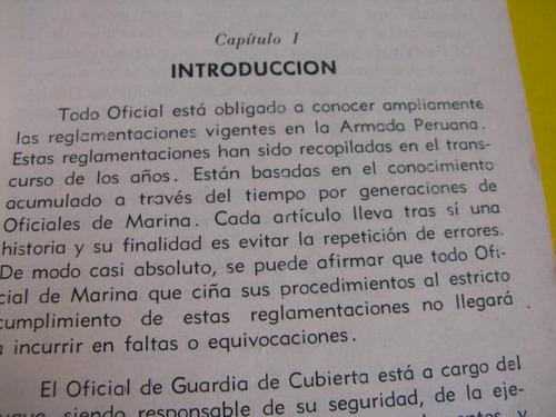 mercurio peruano: libro guia de oficial d guardia 1963 l105