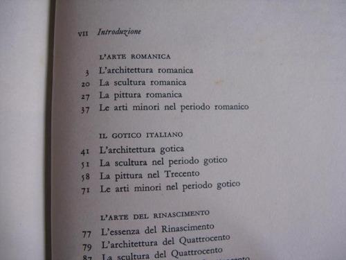 mercurio peruano: libro historia arte italiano 1962 l67