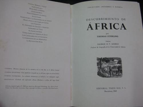 mercurio peruano: libro historia descubrimiento africa l68