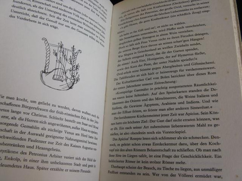 mercurio peruano: libro kochen cocina 1964 aleman l72