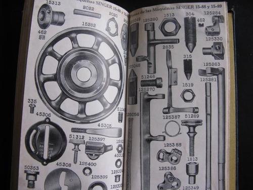 mercurio peruano: libro  maquina singer guia de uso l45