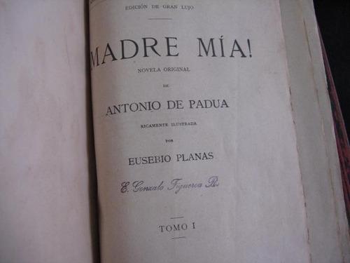 mercurio peruano: libro novela madre mia antonio de padual53