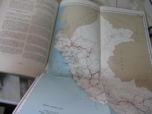mercurio peruano: libro plan vial nacional 1975 militar  l-4