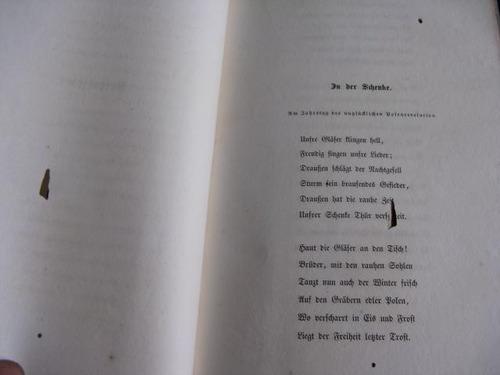 mercurio peruano: libro poesia alemana nikolaus lenau l73