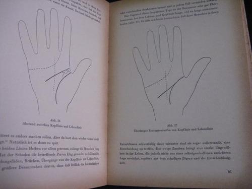 mercurio peruano: libro quiromancia lectura manos aleman l53