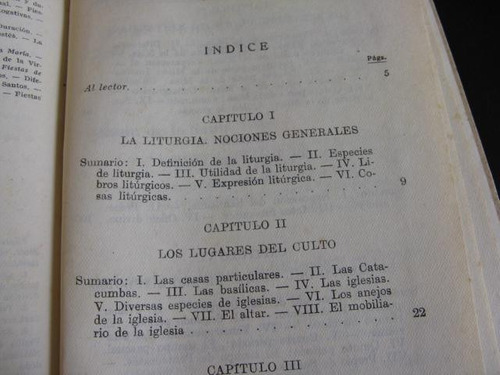 mercurio peruano: libro religion manual de liturgia 1956 l71