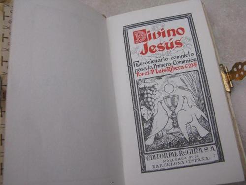 mercurio peruano: libro religion misal dev comunion 1963 l51