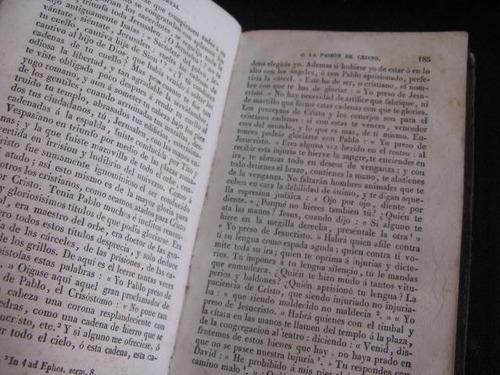 mercurio peruano: libro religion pasion de cristo 1836 l52