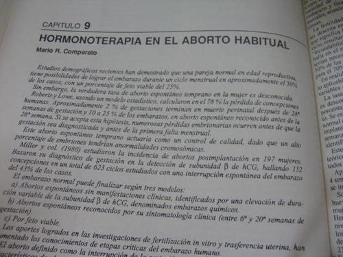 mercurio peruano: libro terapia hormonal ginecologia l-5
