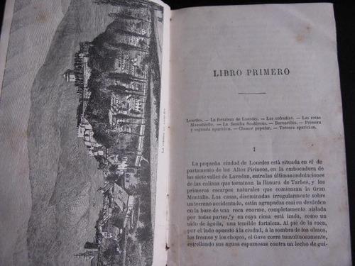 mercurio peruano: libro virgen nuestra señora lourdes l138