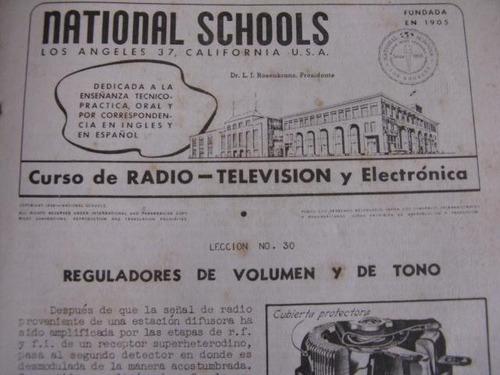 mercurio peruano: manual  radio tv folleto 26-48 1958 l93