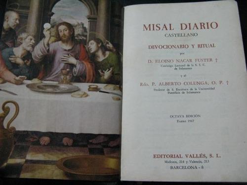 mercurio peruano: misal diario eloino nacar & colunga l103