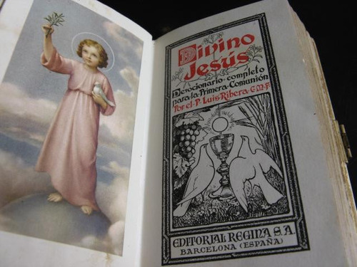 mercurio peruano: misal divino jesus edito regina españa l51