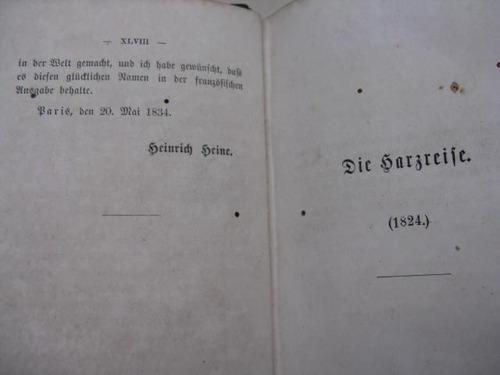 mercurio peruano: obras heine 1,3,5,8,9 1861 l23