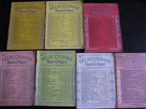 mercurio peruano: revisa selecciones 1941  7 numeros l87