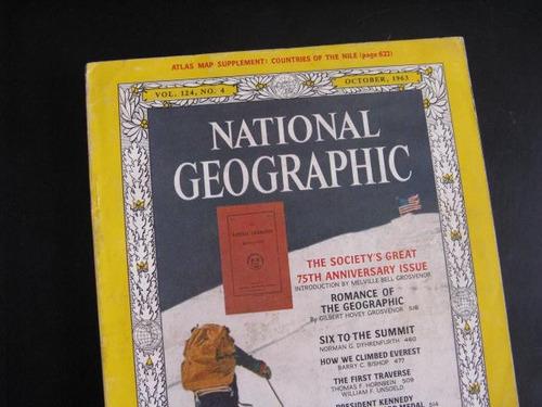 mercurio peruano: revista national geographic 1963  1un l48