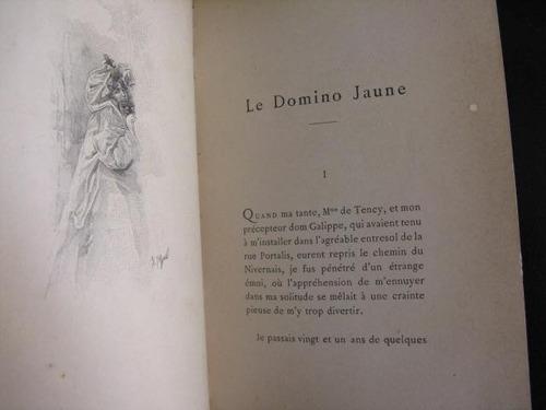 mercurio peruano:libro domino jaune marcel prevost 1901 l54