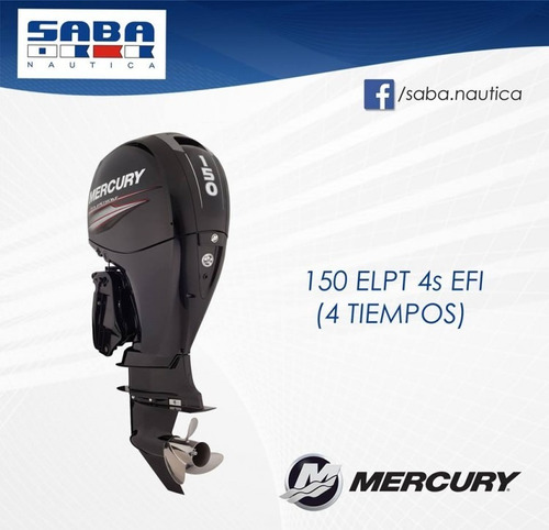mercury 150 xl 4 tiempos / el mejor precio / envío sin cargo